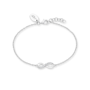 s.Oliver Infinity-Armband aus Silber