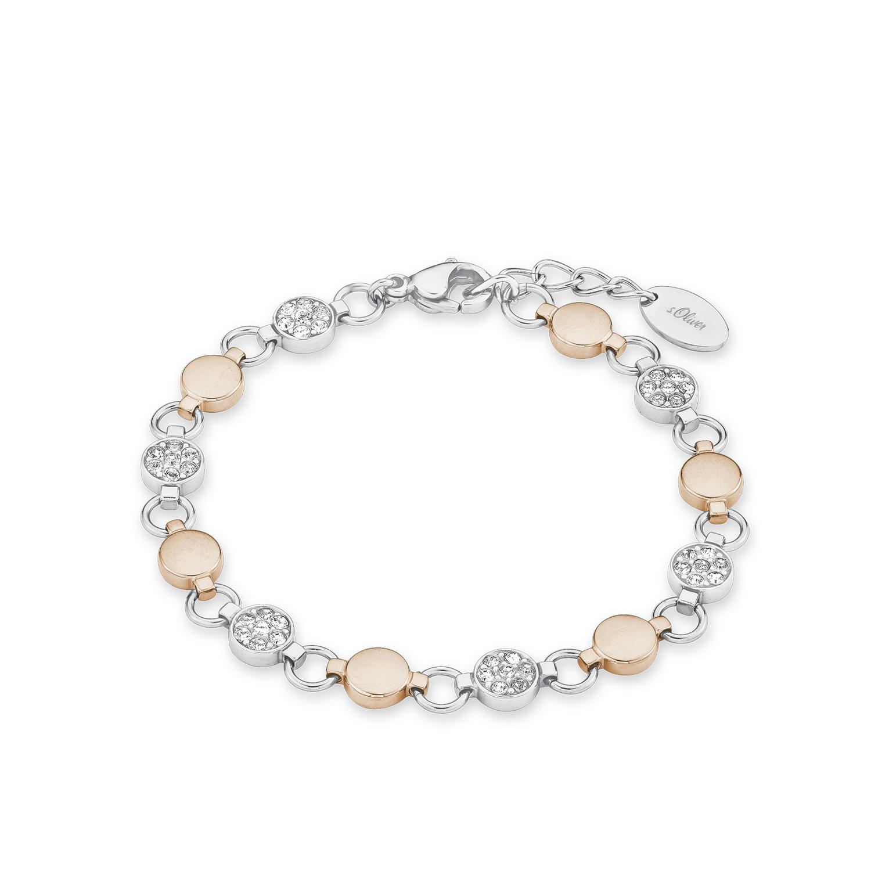 s.Oliver Armband mit Swarovski-Kristallen